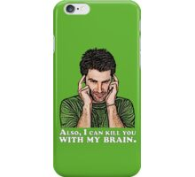 Shawn must use this power for good... iPhone Case/Skin