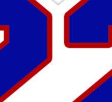 National baseball player Jason Thompson jersey 22 Sticker