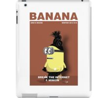Break the world minion iPad Case/Skin