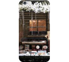 Christmas showcase in the evening iPhone Case/Skin