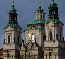 Church in Prague by Terri Foster