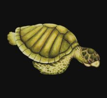 Olive Ridley Sea Turtle Kids Clothes