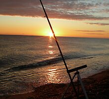 Angler's dawn at Cley by Mark49