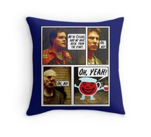 SPOILER ALERT!! Here there be Cylons! Throw Pillow