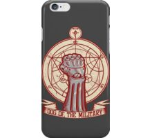 Dog of the Military: Full Metal iPhone Case/Skin