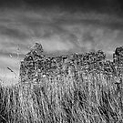 Scottish Church in black and white by leizure