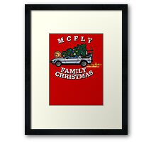 McFly Family Christmas Framed Print