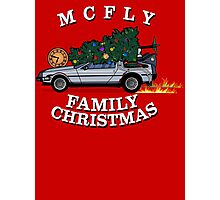 McFly Family Christmas Photographic Print