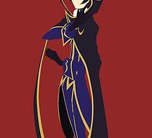 Code Geass - Lelouch Minimalist by Jaruor