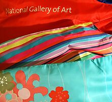 National Gallery Of Art Scarves by Cora Wandel