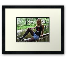 By The Rivulet Framed Print