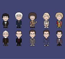 The Fourteen Doctors (mug) by redscharlach