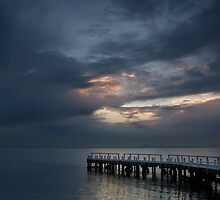 Light on Corio Bay,Portarlington by Joe Mortelliti