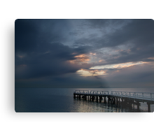 Light on Corio Bay,Portarlington Metal Print