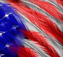 A Warriors Flag by Trinton TrinityHawk Garrett