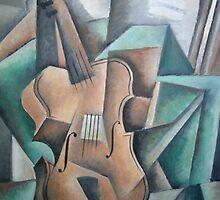 Violin by Bill Proctor