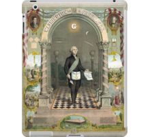 George Washington as a Freemason iPad Case/Skin