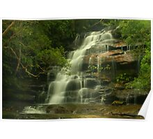 Upper Somersby Falls with Wazza & Kenko Poster