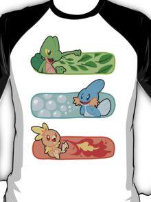 Pokemon / Hoenn Starters - Omega Ruby T-Shirt
