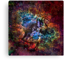 When The Stars Are Right - The Crab Nebula in Taurus Canvas Print