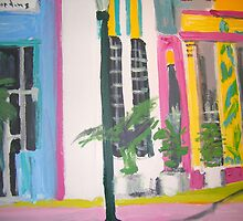 Miami beach -Art Deco Region by gillsart