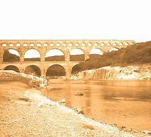 Pont Du Garde by Leia
