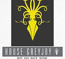 House Greyjoy Sigil by P3RF3KT
