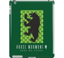 House Mormont Sigil iPad Case/Skin