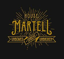 House Martell Typography by P3RF3KT
