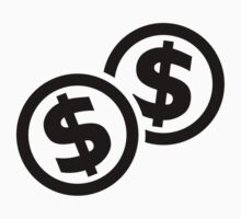 Dollar coins by Designzz