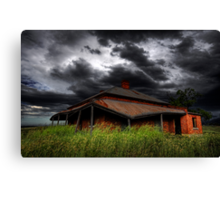 Tumbledown Cottage Canvas Print