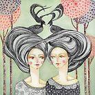 Telepathy by Jimena Arechavala