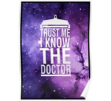 TRUST ME I KNOW THE DOCTOR Poster