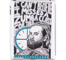 Joe Wilkinson iPad Case/Skin
