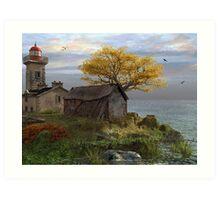 Little Island Bay Art Print