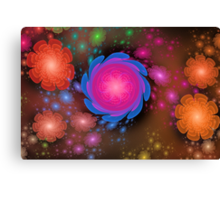Too Many Flowers and No More Room Canvas Print