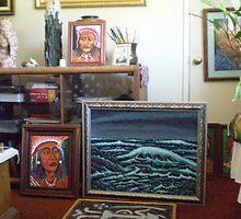 living room art by madvlad