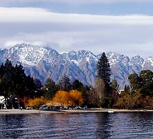 Lake Wakitupu - Queenstown by Dorothy Clark