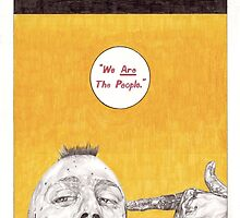 TAXI DRIVER hand drawn movie poster in pencil by theexiledelite