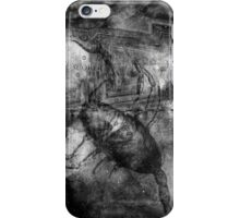 When The Stars Are Right - The Cat's Paw Nebula in Scorpius (black & white version) iPhone Case/Skin