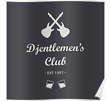 Djentlemen's Club Poster