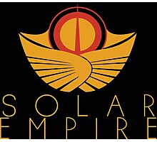 The Solar Empire Crest Photographic Print