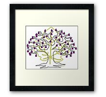 50 Figs on Tree Framed Print