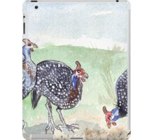 The Guineas are back! iPad Case/Skin