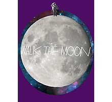 Walk the moon to space  Photographic Print