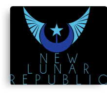 New Lunar Republic Crest Canvas Print