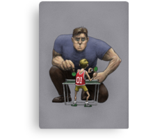 Unlikely Champion Canvas Print