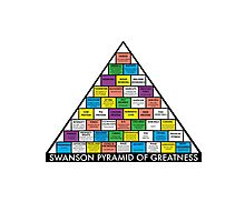 The Swanson Pyramid of Greatness Photographic Print
