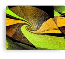 Lime Twist Canvas Print