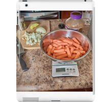 Preparing Thanks Giving Dinner iPad Case/Skin